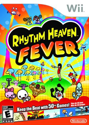 Cover for Rhythm Heaven Fever.