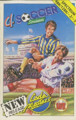 Cover for 4 Soccer Simulators.