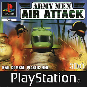 Cover for Army Men: Air Attack.