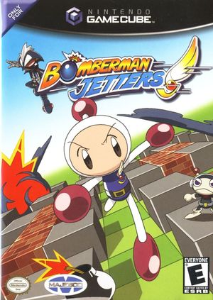 Cover for Bomberman Jetters.