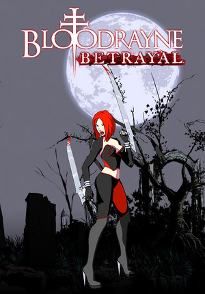 Cover for BloodRayne: Betrayal.