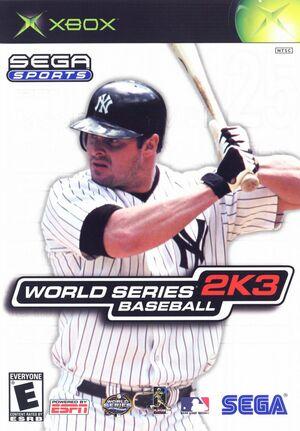 Cover for World Series Baseball 2K3.