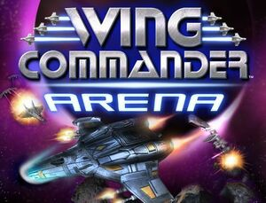 Cover for Wing Commander Arena.