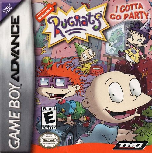 Cover for Rugrats: I Gotta Go Party.