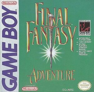 Cover for Final Fantasy Adventure.