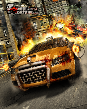Cover for Zombie Driver.