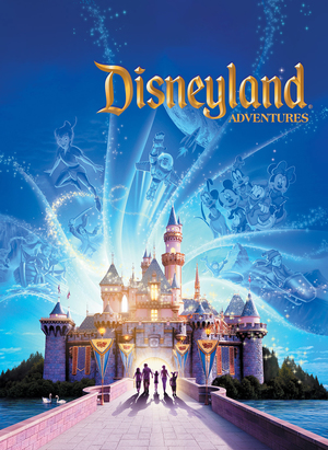 Cover for Kinect: Disneyland Adventures.