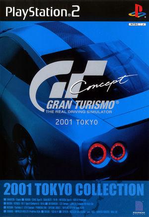Cover for Gran Turismo Concept.