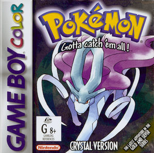 Cover for Pokémon Crystal.