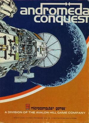 Cover for Andromeda Conquest.