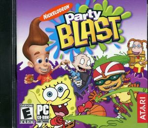 Cover for Nickelodeon Party Blast.