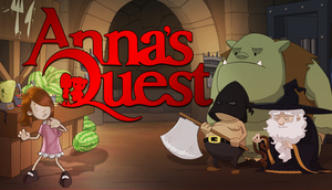 Cover for Anna's Quest.