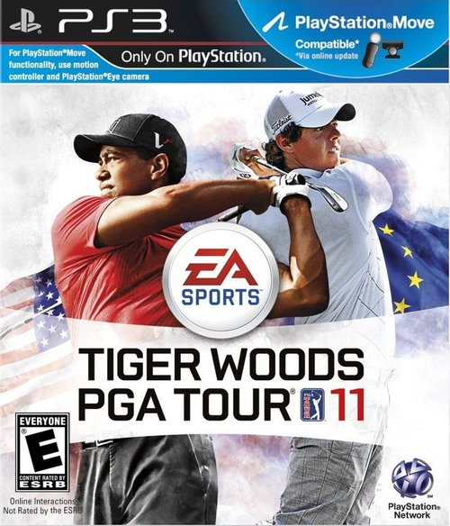 Cover for Tiger Woods PGA Tour 11.