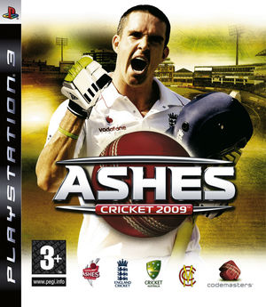 Cover for Ashes Cricket 2009.