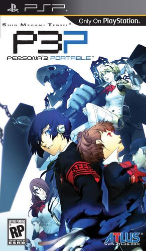 Cover for Shin Megami Tensei: Persona 3 Portable.