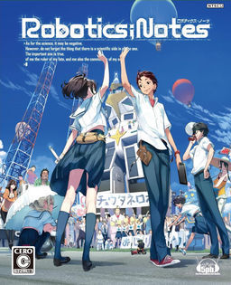 Cover for Robotics;Notes.