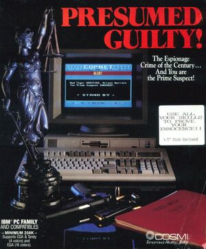 Cover for Presumed Guilty!.