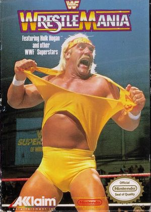 Cover for WWF WrestleMania.