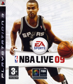 Cover for NBA Live 09.