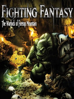 Cover for Fighting Fantasy: The Warlock of Firetop Mountain.