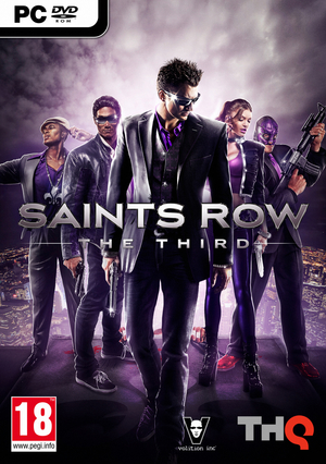 Cover for Saints Row: The Third.
