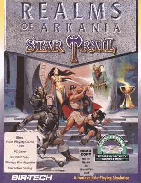 Cover for Realms of Arkania: Star Trail.