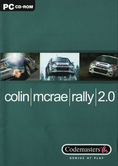 Cover for Colin McRae Rally 2.0.
