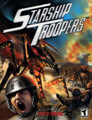 Cover for Starship Troopers: Terran Ascendancy.