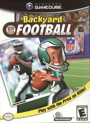 Cover for Backyard Football.
