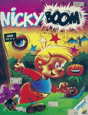 Cover for Nicky Boum.