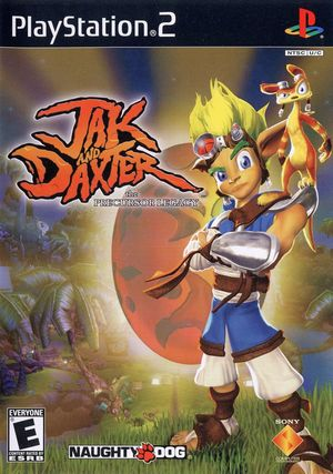 Cover for Jak and Daxter: The Precursor Legacy.