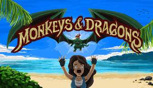 Cover for Monkeys & Dragons.