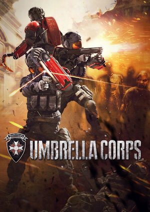 Cover for Umbrella Corps.