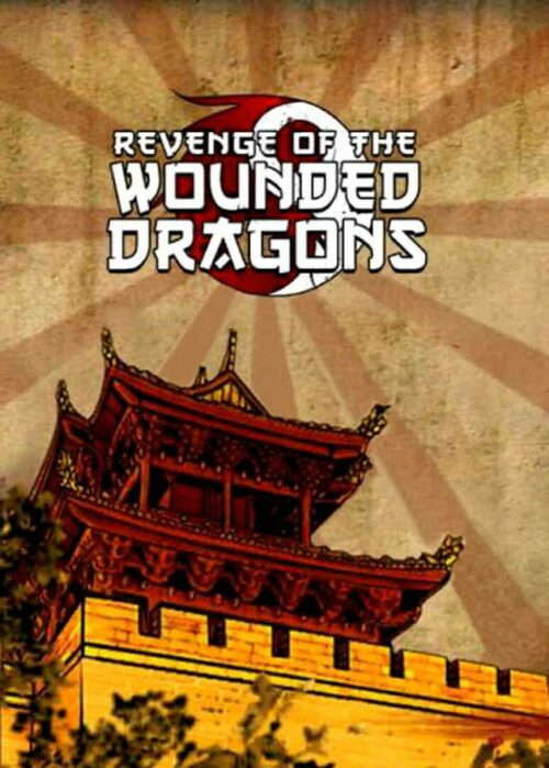 Cover for Revenge of the Wounded Dragons.