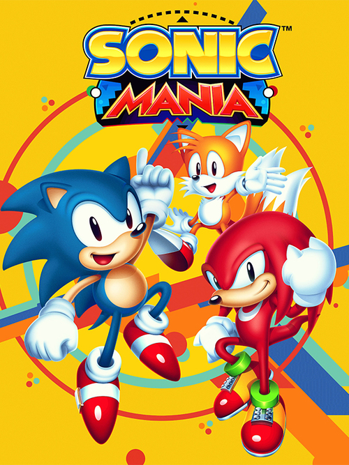 Cover for Sonic Mania.