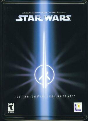 Cover for Star Wars Jedi Knight II: Jedi Outcast.