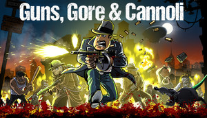 Cover for Guns, Gore & Cannoli.