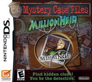 Cover for Mystery Case Files: MillionHeir.