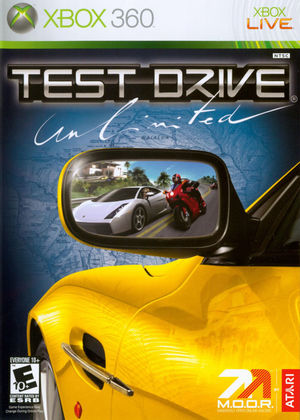 Cover for Test Drive Unlimited.