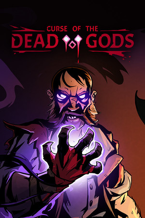 Cover for Curse of the Dead Gods.