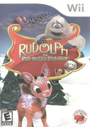 Cover for Rudolph the Red-Nosed Reindeer.