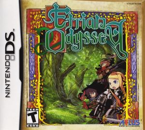Cover for Etrian Odyssey.