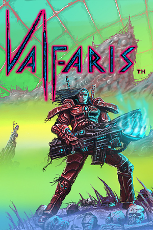Cover for Valfaris.