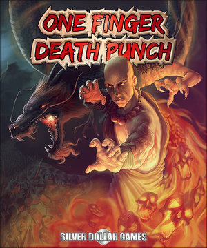 Cover for One Finger Death Punch.