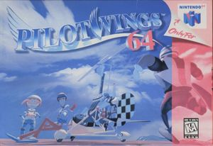 Cover for Pilotwings 64.