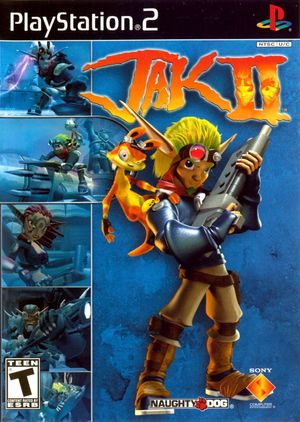 Cover for Jak II.