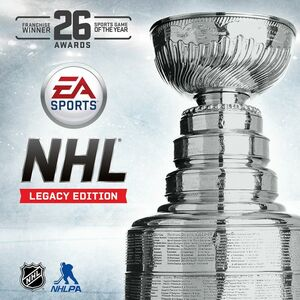 Cover for NHL: Legacy Edition.