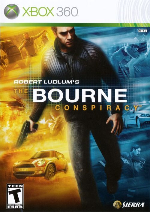 Cover for Robert Ludlum's The Bourne Conspiracy.