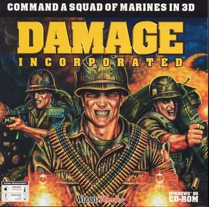 Cover for Damage Incorporated.
