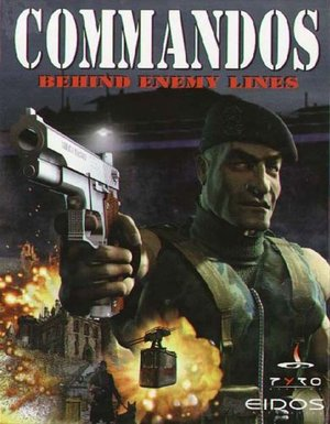 Cover for Commandos: Behind Enemy Lines.